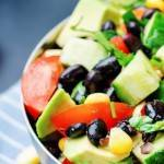 Southwest Salad with Cilantro Dressing - Small