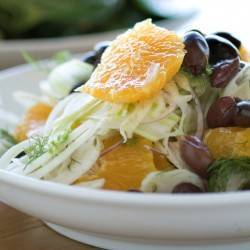 Mixed Lettuce, Fennel & Orange Salad