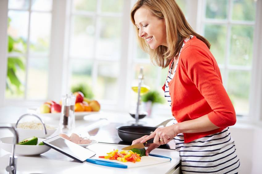 Cook at Home to Eat Healthy