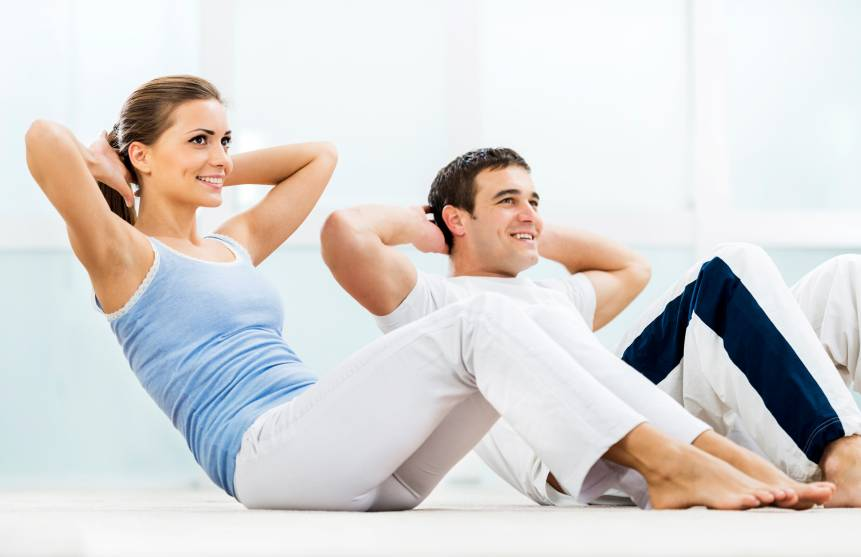 Couples Working Out Together