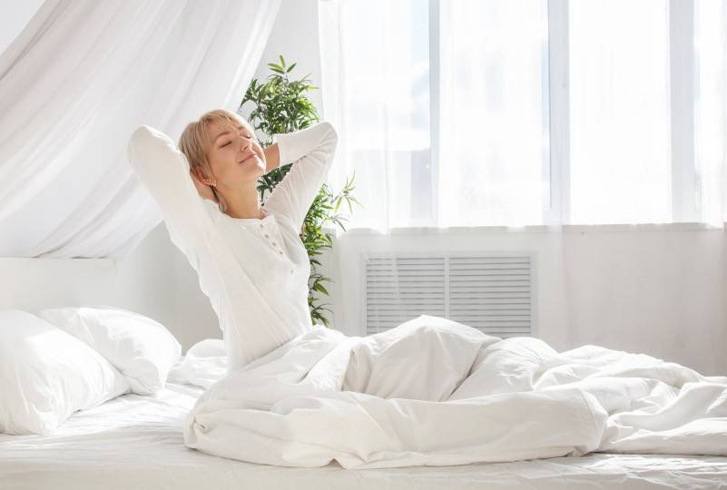 The Health Benefits of a Good Night's Sleep