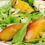 Arugula with Peach Salad - Small