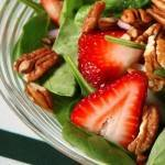 Spinach Salad with Strawberries & Poppy Seed Dressing - Small
